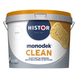 Histor Monodek Clean Muurverf extra mat - Wit of lichte kleuren - 10 liter
