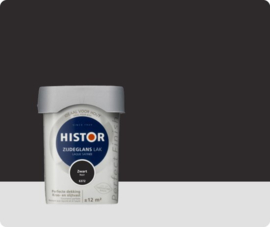 Histor Perfect Finish Zijdeglans  Zwart 6372 - 0,75 liter