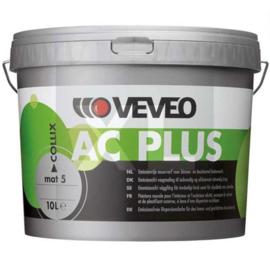 VEVEO COLLIX AC PLUS MAT - wit of lichte kleuren - 10 liter