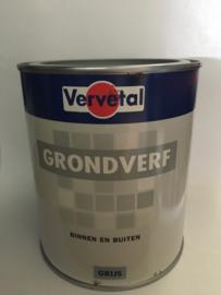 Grondverf Binnen en Buiten - Grijs - 3 maal 0,75 liter