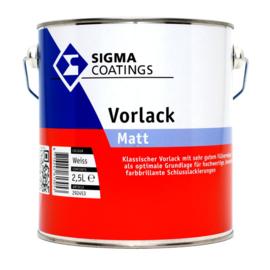 Sigma Vorlack Matt - Wit - 2.5 liter - Grondverf