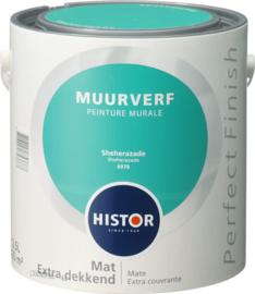 Histor Perfect Finish Muurverf Mat - Sheherazade 6978  - 2,5 Liter