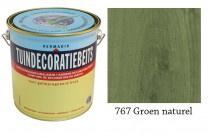 Hermadix Tuindecoratiebeits 767 Groen Naturel - Natuur Groen - 0.75 liter