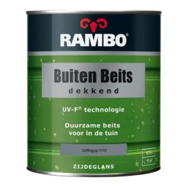 RAMBO Buitenbeits Dekkend - Griffelgrijs 1112 - 0,75 liter
