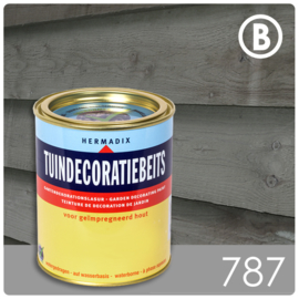 Hermadix Tuindecoratiebeits 787 Slate - 0.75 liter