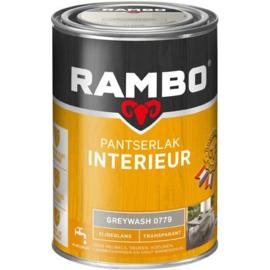 Rambo Pantserlak Interieur Zijdeglans Transparant - Greywash 0779 - 0,75 liter