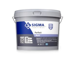 Sigma Perfect Matt - RAL 9005 Zwart -  10 Liter