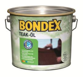 BONDEX Teak olie kleurloos - Teak öl farblos 2,5 liter