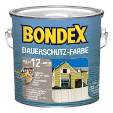 BONDEX Dauerschutz-Farbe - Granitgrau 232 - 2,5 liter