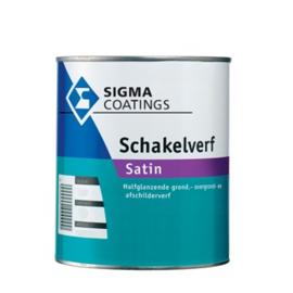 Sigma Schakelverf Satin - WIT - 2,5 liter