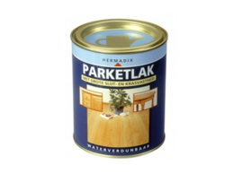 Hermadix Parketlak - 0,75 liter - Glansvrij 25<5 - Blank