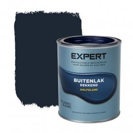 1 blik 750 ml - Sikkens Expert Buitenlak halfglans - Geldersblauw