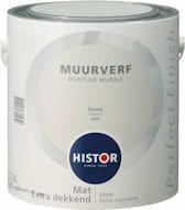Histor Perfect Finish Muurverf Mat - Damp 6926 - 2,5 Liter