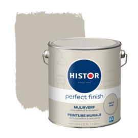 Histor Perfect Finish Muurverf Mat - Veil of dusk - 2,5 liter