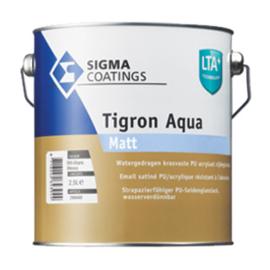 SIgma Tigron Aqua Matt - WIT - 2,5 liter - Vergelijkbaar Sigma S2U Nova Matt