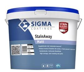 Sigma StainAway Matt - 10 liter - WIT