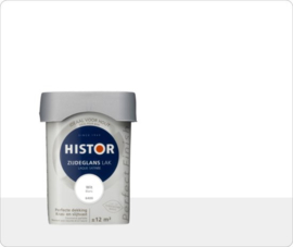 Histor Perfect Finish Zijdeglans - Wit 6400 - 0,75 liter