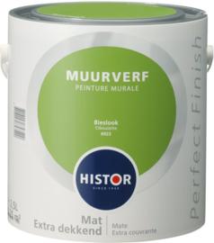Histor Perfect Finish Muurverf Mat - Bieslook 6923 - 2,5 Liter