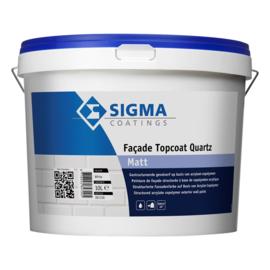 Sigma Facade Topcoat Quartz Matt - RAL 9005 Zwart - 10 liter