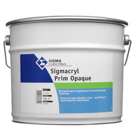 Sigmacryl Prim Opaque WIT - 10 liter