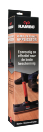 RAMBO Applicator inclusief Vloerlak Transparant Acryl Zijdeglans - 5 maal 4 liter