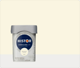 Histor Perfect Finish Zijdeglans - Roomwit 6506 - 0,75 liter