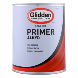 Glidden Primer - Alkyd - Voor buiten 4seizoenen onderhoud - alle kleuren - 1 liter