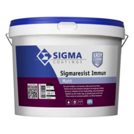 Sigmaresist Immun Matt - Wit - 10 liter