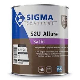 Sigma S2U Allure Satin - WIT  - 1 liter