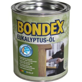 BONDEX Eukalyptus olie - Eukalyptus öl Eukalyptus - 3 maal 0.75 liter