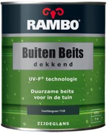 RAMBO Buitenbeits Dekkend - Grachtengroen 1128 - 0,75 liter