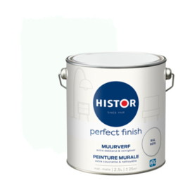 Histor Perfect Finish Muurverf Mat - RAL 9016 - 2,5 liter