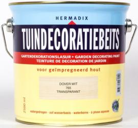 Hermadix Tuindecoratiebeits 765 Dover White - 0.75 liter