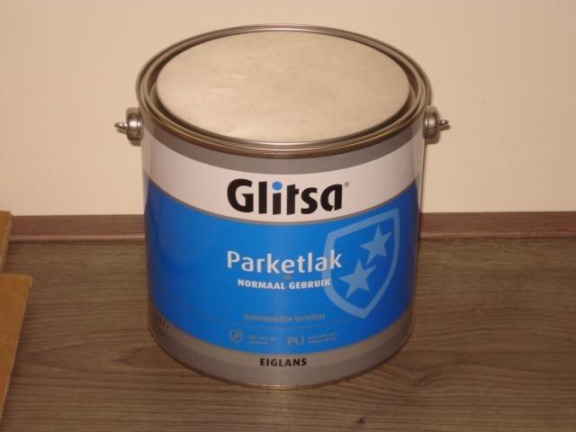 GLITSA Parketlak Eiglans 3 maal 2.5 liter