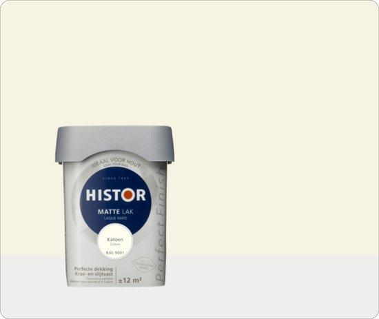 Histor Perfect Finish Mat  Katoen Ral 9001 - 3 maal 0,75 liter