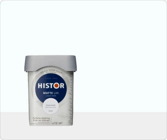 Histor Perfect Finish Mat  Hoornwit 6763 - 3 maal 0,75 liter