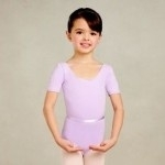 Tank Leotard PNK Capezio short sleeve