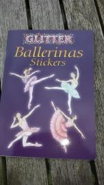 Dover Glitter Ballerina Stickers