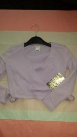Wrap Top Bloch BU501c Lilac