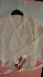 Long Sleeve wrap sweater Capezio CS301c