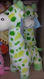 Pluche Giraffe Groen Rammelaar