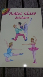 Dover Little Activity Books/Ballet Class Stickers