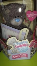 Tatty Teddy Blue Nose Story Time 32cm