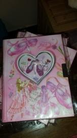 Dagboekje/notitie boekje Ballerina