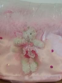 Ballerina Muis tas roze