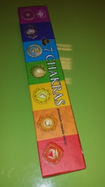 7 chakras sticks