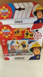 Fireman Sam sticker set