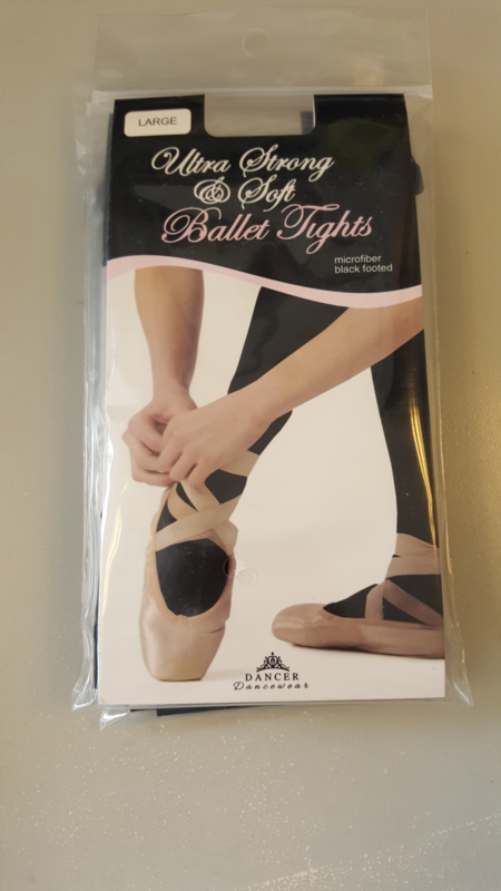 Ultra Strong &Soft Ballet tights microfiber black footed