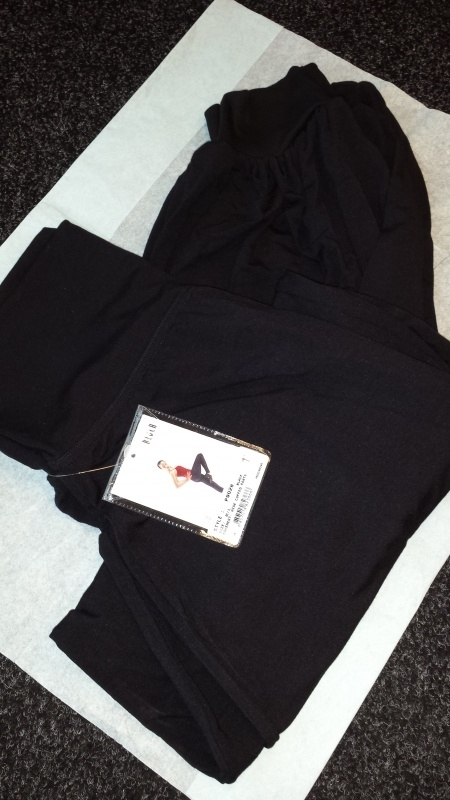 Roll Over Waist Pants P9028 Movement Bloch Adult