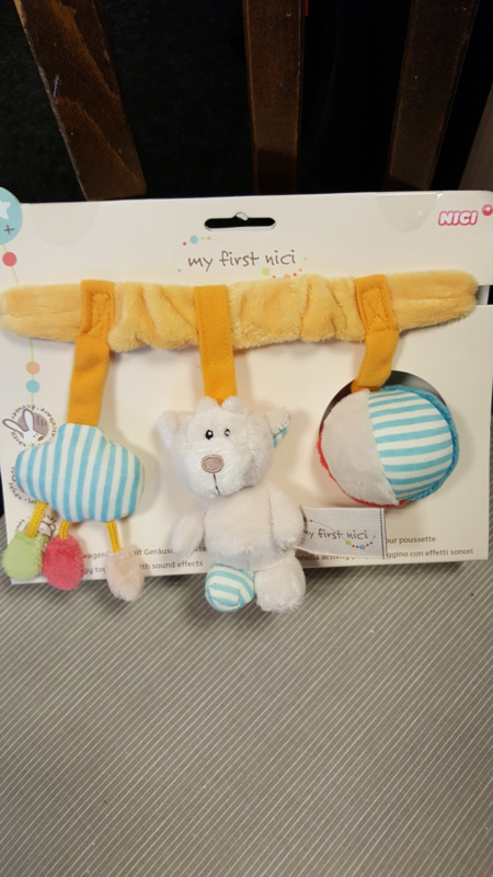 My First Nici buggy toy chain with sound effects
